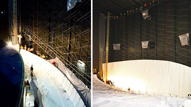 Replacing the World's Biggest IMAX Screen Is As Difficult As It Sounds
