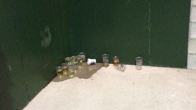 Fans At Wrigley Field Are Resorting To Peeing In Cups