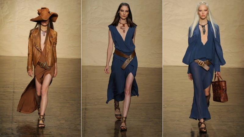 Donna Karan, for the Ultra Chic Hippie Business Woman in You