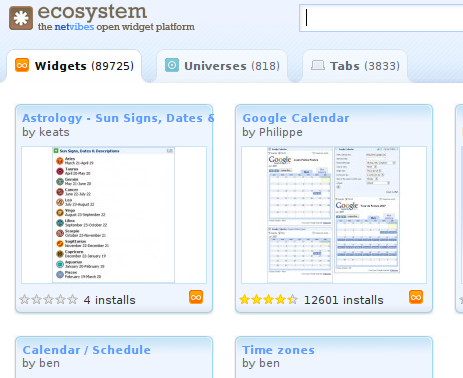 Netvibes Widgets Now Cross-Platform