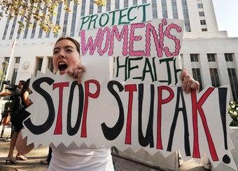 Stupak Amendment Energizes Both Sides Of Abortion Debate