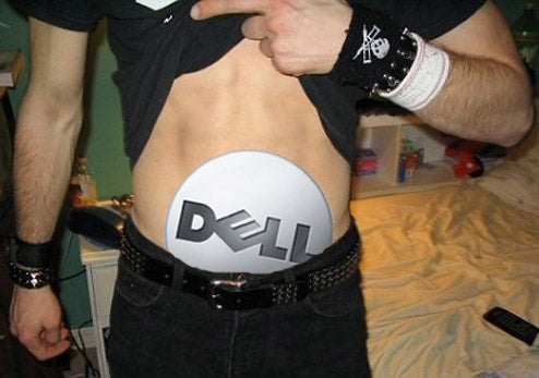 Dell Tries to Mend Fences With a Laptop Full of Pubes