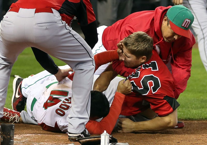 WBC Brawl Caused By Written Rule That Flies In The Face of Baseball's Unwritten Rules