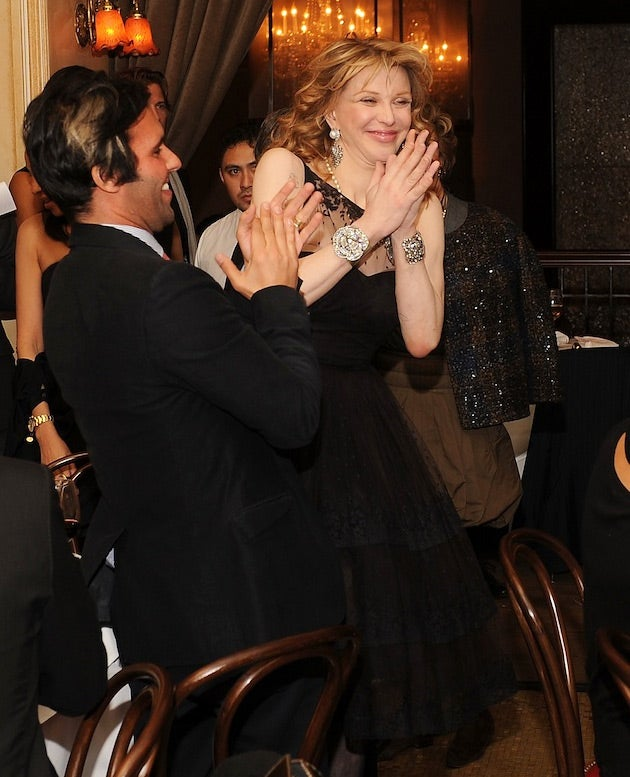 Courtney Love Pays Thousands of Dollars for a Date with Adrien Brody, and Other Desperate People