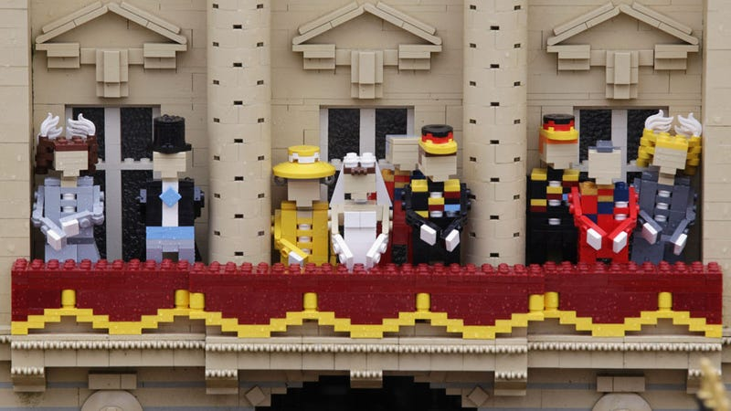 The Royal Wedding Started Early In Legoland