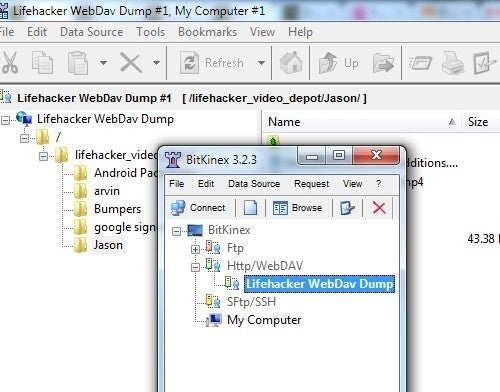 BitKinex Is an All-In-One WebDAV and FTP Client for Windows