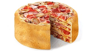 This pizza cake can change the space-time continuum <em>FOREVER</em>