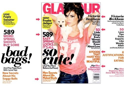 So Cute! Glamour Gives Posh A Glamectomy