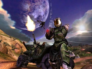 When Halo was on the Mac, and was a Totally Different Game