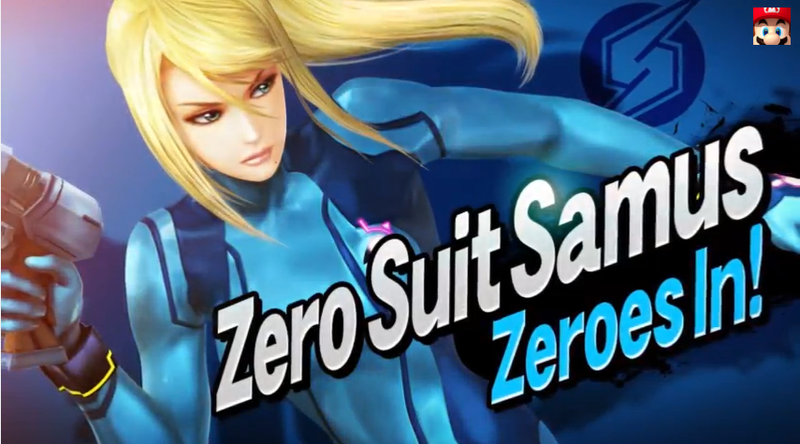 Zero Suit Samus Is A Separate Character In Super Smash Bros.