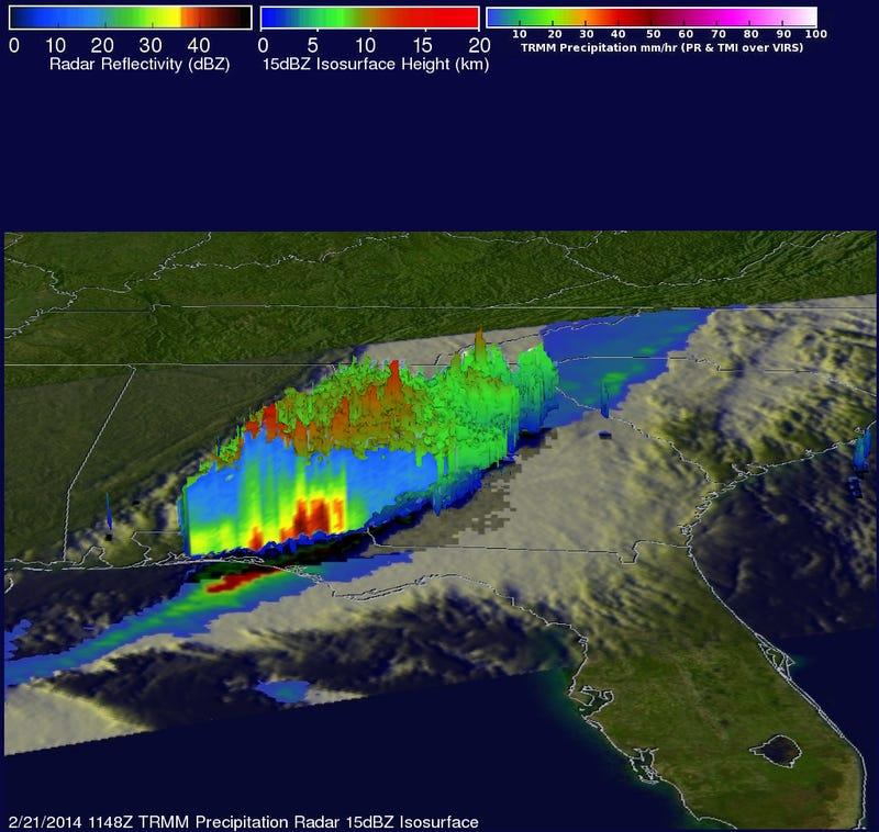 NASA's New Satellite Will Use Radar to Measure Global Rain and Snow