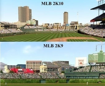 MLB 2K10 Appears to Cut Down Stadium Advertising