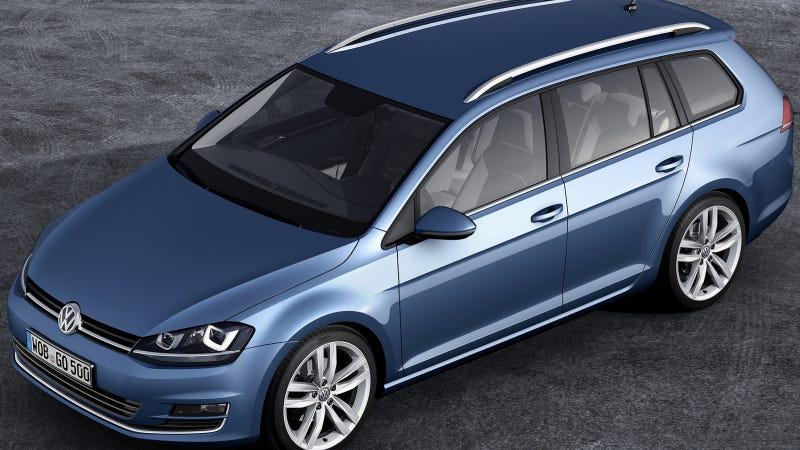 This Golf Wagon Is The Next Volkswagen Jetta SportWagen We May Or May Not Get