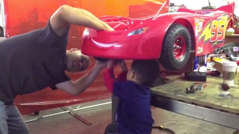 How To Turn Your Five-Year-Old Into A Gearhead