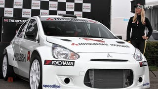 Is this Mitsubishi's slow and undercover return to WRC?