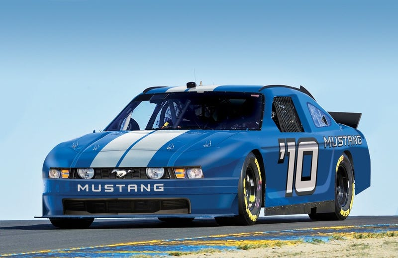 Ford Mustang Officially Coming To NASCAR!