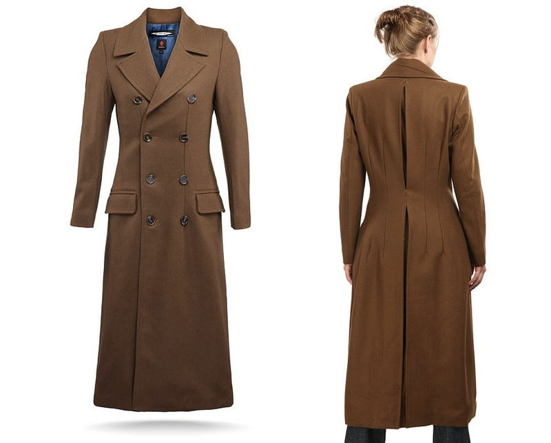 We love this officially licensed, gender-swapped Doctor Who coat