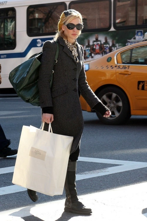 Cate Has ______ In The Bag