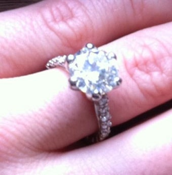 Here's Crystal Harris's Engagement Ring