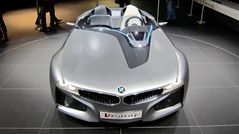 BMW Vision ConnectedDrive roadster will help you date Katy Perry