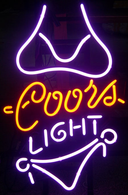 Neon Sign Kit vs. Ebay Beer Neon
