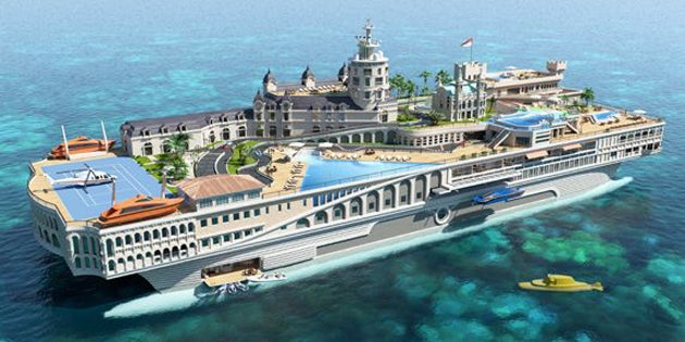 This Yacht Defies My Wildest Tackiest Dreams—and It's Awesome