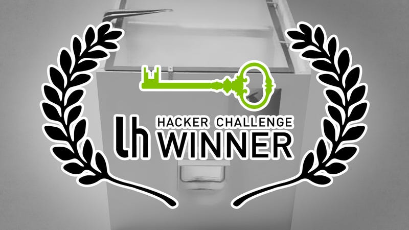 Challenge Winner: Get Better Control of Your Cats' Eating Habits