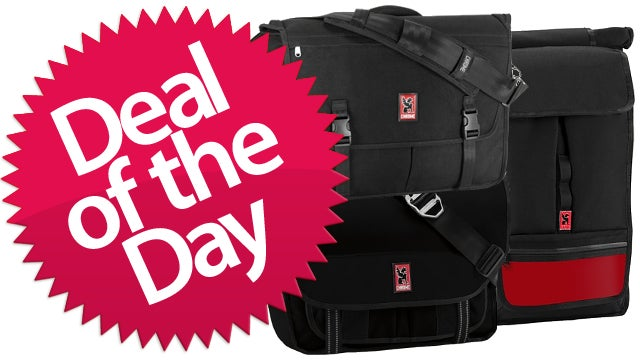 These Chrome Backpacks Are Your IRL Storage Deal of the Day