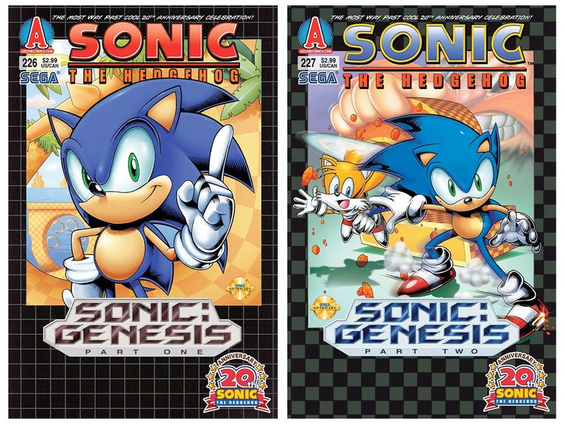 Your Latest Reboot Is Sonic the Hedgehog's Comic Book Series