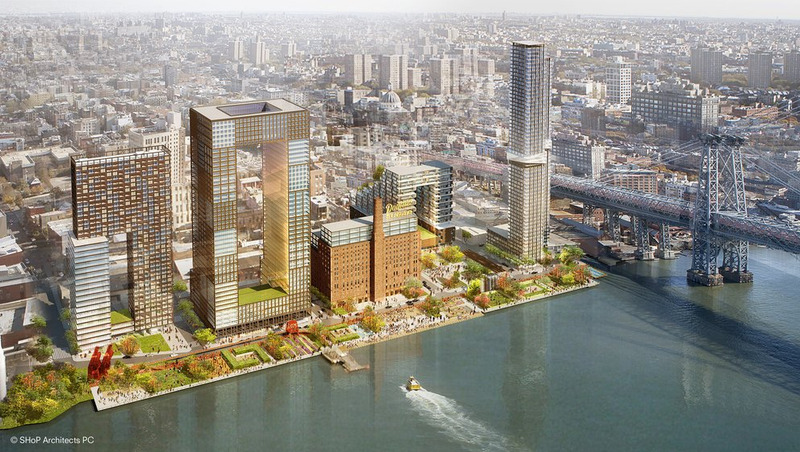 Giant Luxury FutuRoboCondo Development to Make Williamsburg's 'Edgy' Past Even More Archaic