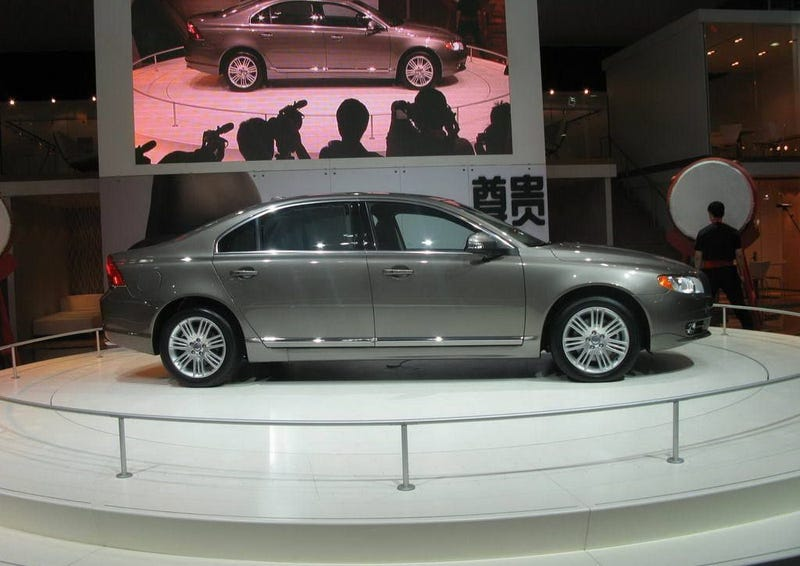 Volvo S80L: Longer, with More Chinese Characters!