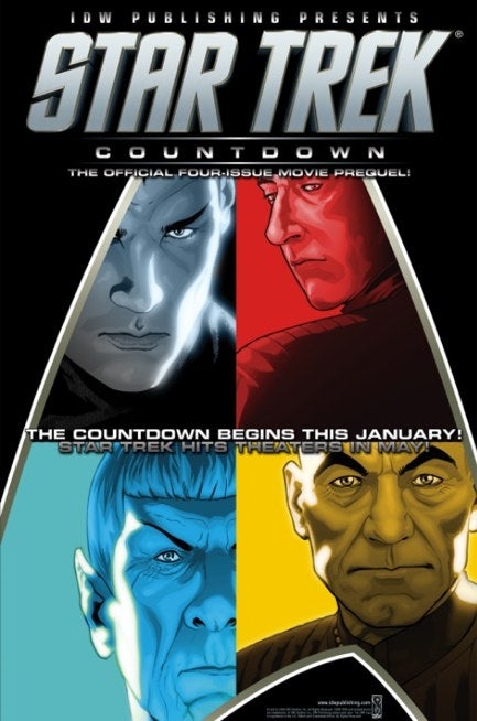 Star Trek Gets A IMAX Relase And A New Comic With Old Faces