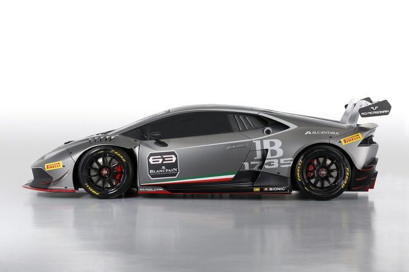The Lamborghini Huracán Super Trofeo Got Rear-Wheel Drive With 620 HP!