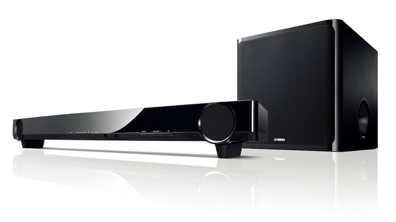 Yamaha's Awesome Affordable Soundbar Now Comes With a Wireless Subwoofer
