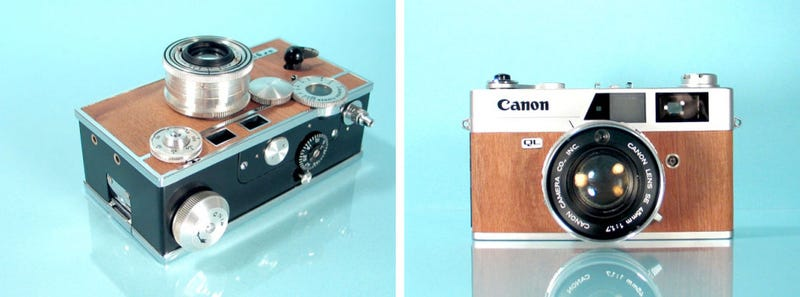 If Only Digital Cameras Were as Beautiful as These Restored Vintage Rangefinders