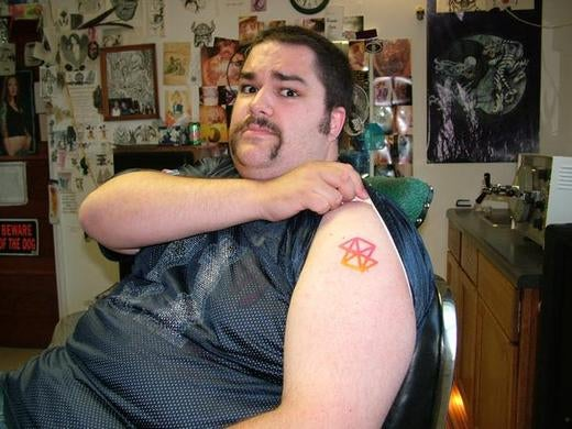 Fanboy #1 Gets Zune Tattoo #2