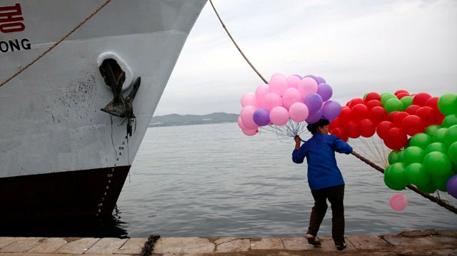 New North Korean Leisure Cruise Doesn't Look So Leisurely