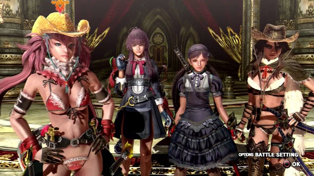 OneChanbara Z2 Pushes the Limits of Console Game Fanservice