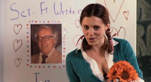 "Interview with ""F*ck Me, Ray Bradbury"" Star Rachel Bloom"