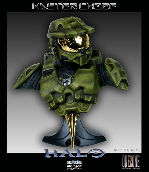 Hello, Giant Master Chief Bust