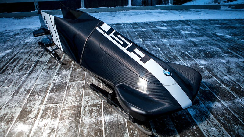 This Is the Badass Bobsled BMW Designed for the US Winter Olympic Team