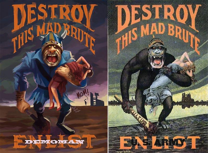Team Fortress 2 Propaganda Invokes The Spirit Of '42