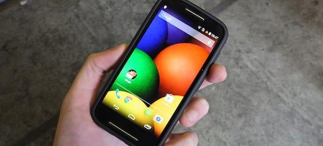 Motorola Moto E Hands-On: Surprisingly Good for $150