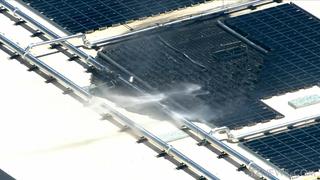 Apple Data Center Building In Mesa, Arizona Catches Fire