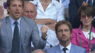 Bradley Cooper And Gerard Butler Enjoyed Their Time At Wimbledon
