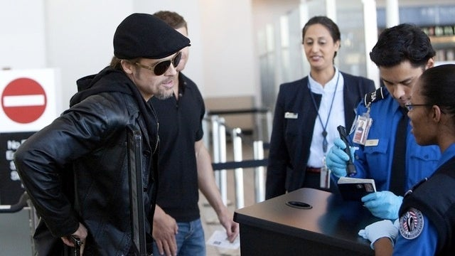 Brad Was Minutes Away from Escaping When Angelina Called the TSA
