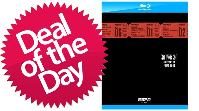 ESPN 30 for 30 Blu-Ray Collector's Set Is Your Balls Stories Deal of the Day