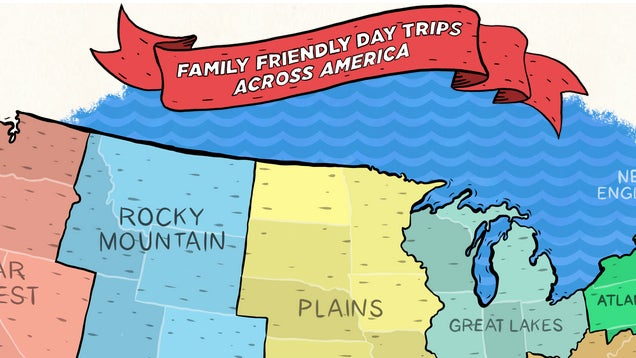 ​Find Family Friendly Day Trips in Any State with This Tool
