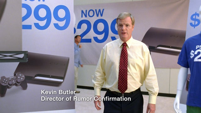 """New Slim Ads Roll Out Sony's """"Director of Rumor Confirmation"""""""