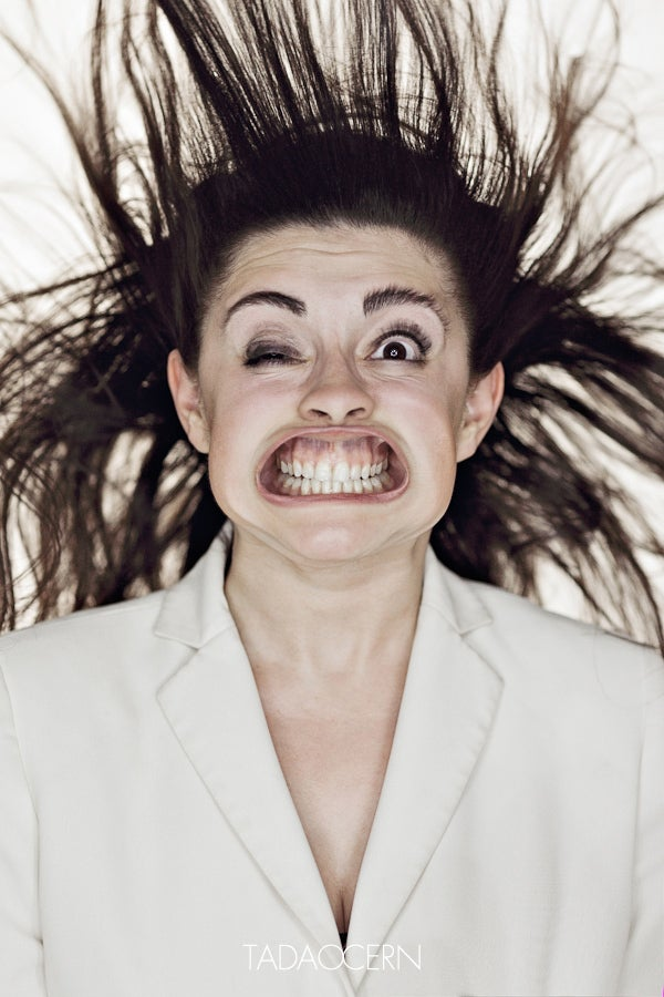 Photographs of people being blasted by wind in the face are priceless